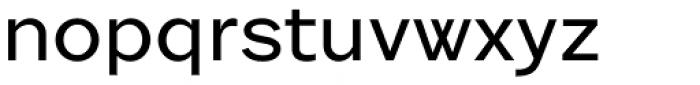 Sole Sans Extended Font LOWERCASE