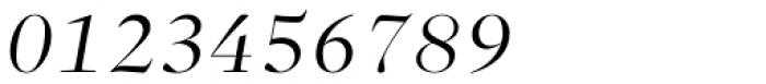 Sole Serif Big Display Light Italic Font OTHER CHARS