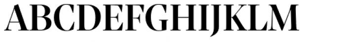 Sole Serif Big Display Medium Font UPPERCASE
