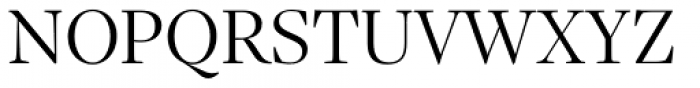 Sole Serif Display Light Font UPPERCASE
