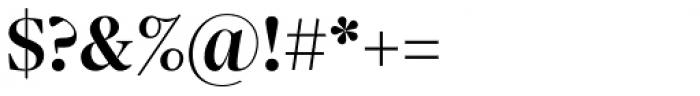 Sole Serif Display Medium Font OTHER CHARS