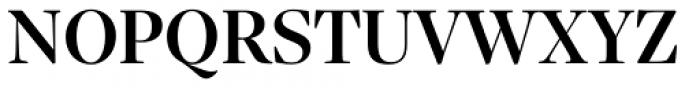 Sole Serif Display Medium Font UPPERCASE