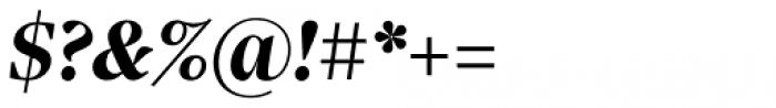 Sole Serif Headline Bold Italic Font OTHER CHARS