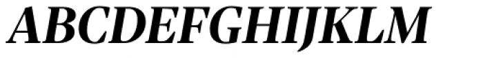 Sole Serif Headline Bold Italic Font UPPERCASE