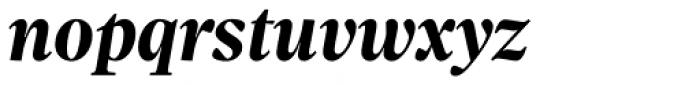 Sole Serif Headline Bold Italic Font LOWERCASE
