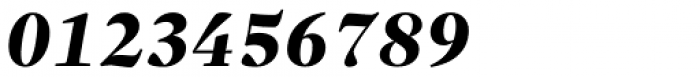 Sole Serif Headline Extra Bold Italic Font OTHER CHARS