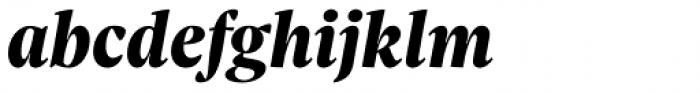 Sole Serif Headline Extra Bold Italic Font LOWERCASE