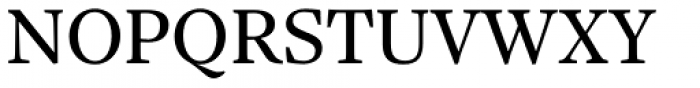 Sole Serif Subhead Font UPPERCASE