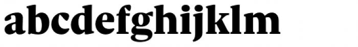 Sole Serif Text Black Font LOWERCASE