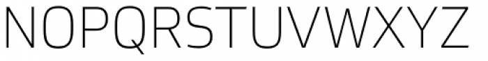 Soleto Thin Font UPPERCASE