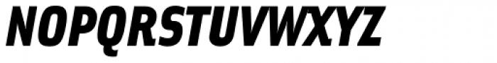Solex Black Italic Font UPPERCASE