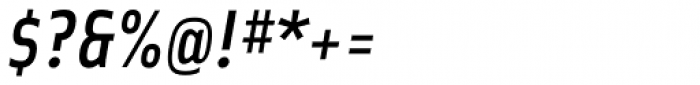 Solex Medium Italic Font OTHER CHARS