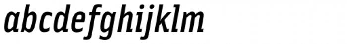 Solex Medium Italic Font LOWERCASE