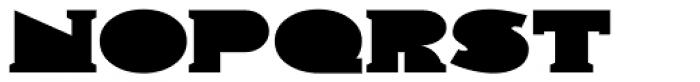 Solid Deco JNL Font LOWERCASE