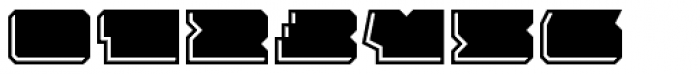 Solida Engraved Wide Font OTHER CHARS