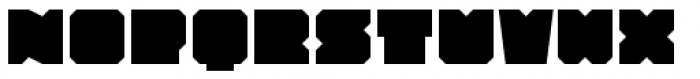 Solida Regular Font LOWERCASE
