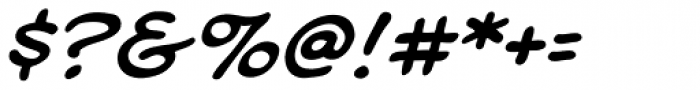 Soliloquous Italic Font OTHER CHARS