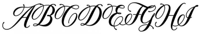 Solistaria Script Italic Font UPPERCASE