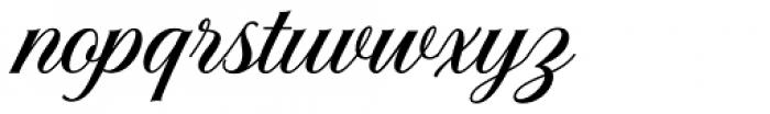 Solistaria Script Italic Font LOWERCASE