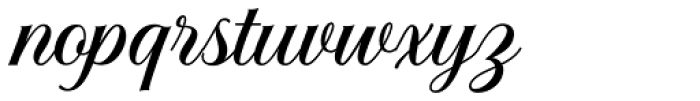 Solistaria Script Regular Font LOWERCASE