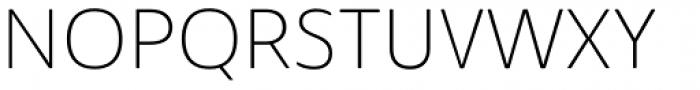 Solitas Ext Thin Font UPPERCASE