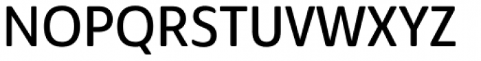 Solitas Nor Regular Font UPPERCASE