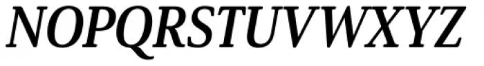 Solitas Serif Cond Bold Italic Font UPPERCASE