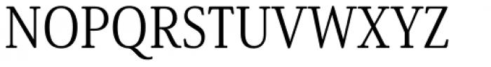 Solitas Serif Cond Book Font UPPERCASE