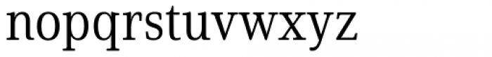 Solitas Serif Cond Book Font LOWERCASE