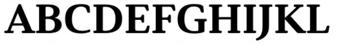 Solitas Serif Ext Ex Bold Font UPPERCASE