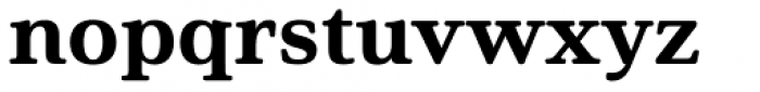 Solitas Serif Ext Ex Bold Font LOWERCASE