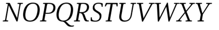Solitas Serif Ext Regular Italic Font UPPERCASE