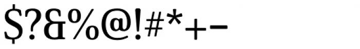 Solitas Serif Norm Demi Font OTHER CHARS