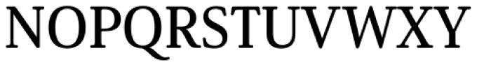 Solitas Serif Norm Demi Font UPPERCASE