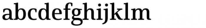 Solitas Serif Norm Demi Font LOWERCASE