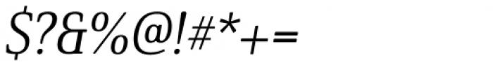 Solitas Serif Norm Regular Italic Font OTHER CHARS