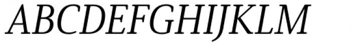 Solitas Serif Norm Regular Italic Font UPPERCASE