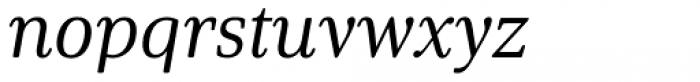 Solitas Serif Norm Regular Italic Font LOWERCASE