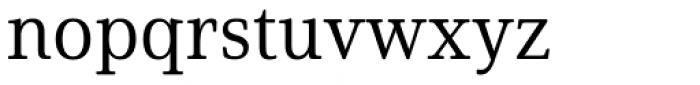 Solitas Serif Norm Regular Font LOWERCASE