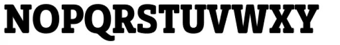 Solitas Slab Con Bold Font UPPERCASE