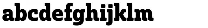 Solitas Slab Con Bold Font LOWERCASE