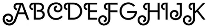 Solomon Normal Deco Font UPPERCASE