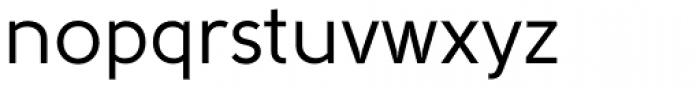 Solomon Sans Normal Font LOWERCASE