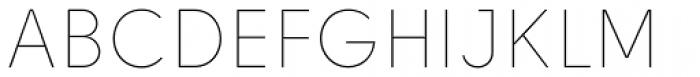 Solomon Sans Thin Font UPPERCASE