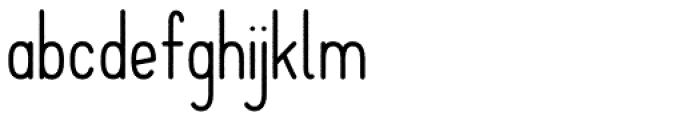 Solopgang Black Font LOWERCASE