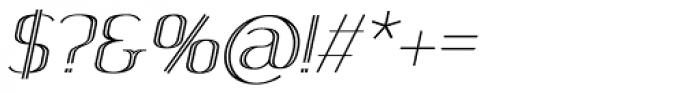 SomaSkript Incised Slanted Font OTHER CHARS