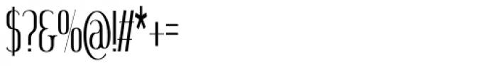 SomaSkript Tall Font OTHER CHARS