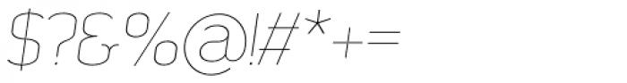 SomaSlab Light Slanted Font OTHER CHARS