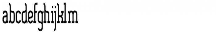 SomaSlab Tall ExtraBold Font LOWERCASE