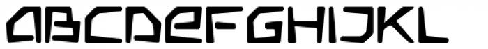 Somaton Bold Font LOWERCASE